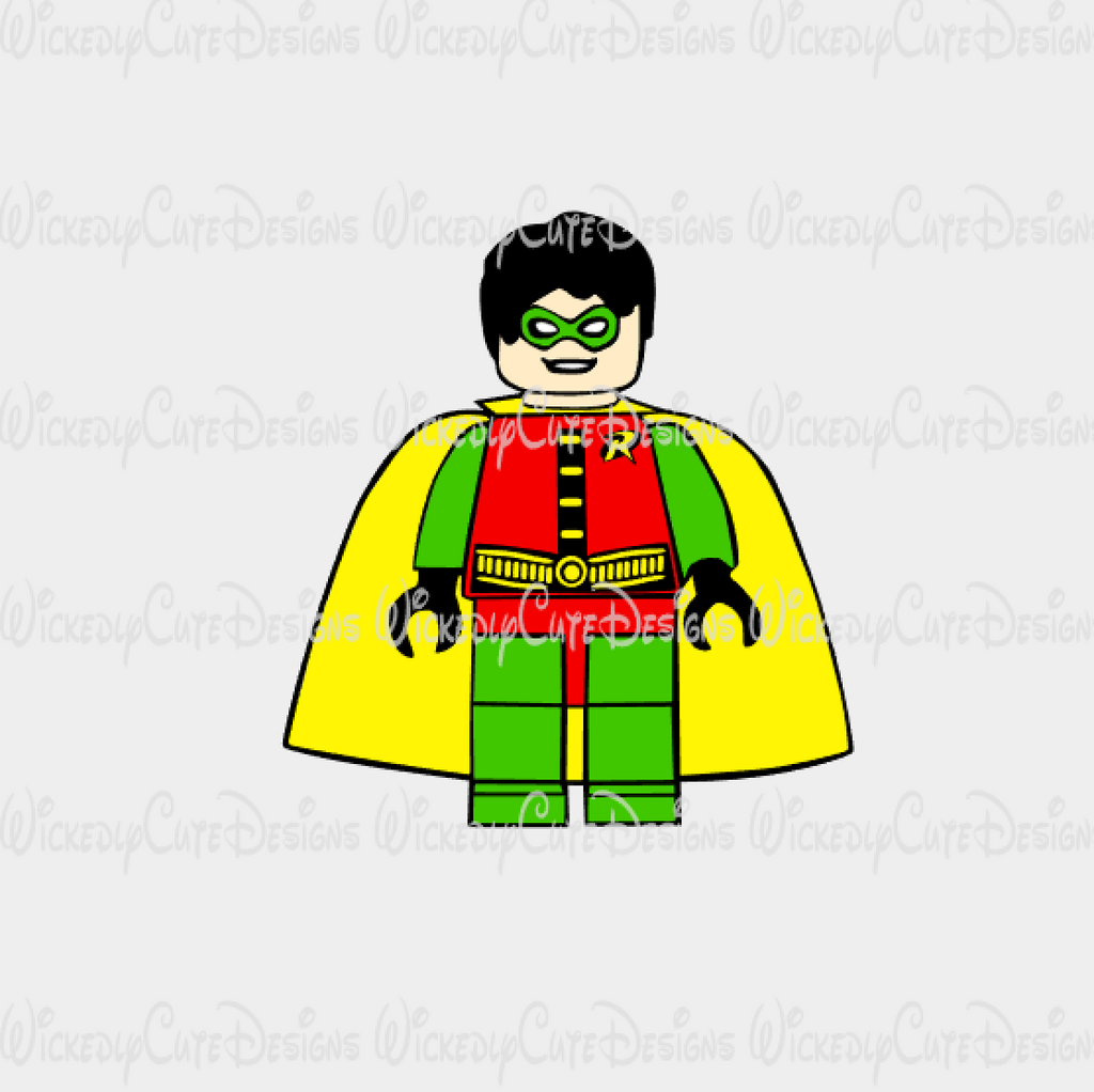 Lego Robin SVG, DXF, EPS, PNG Digital File