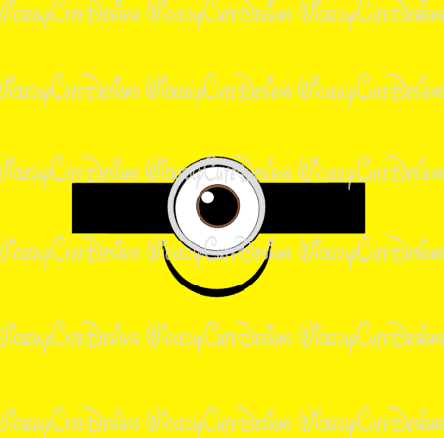 Minion Shirt 2 SVG, DXF, EPS, PNG Digital File