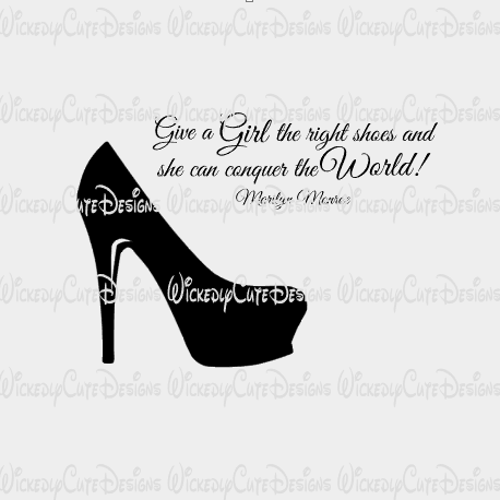 The Right Shoe SVG, DXF, EPS, PNG Digital File