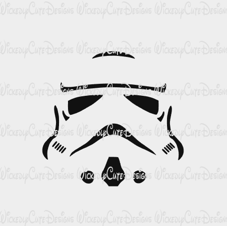 Star Wars Stormtrooper T Shirt SVG, DXF, EPS, PNG Digital File