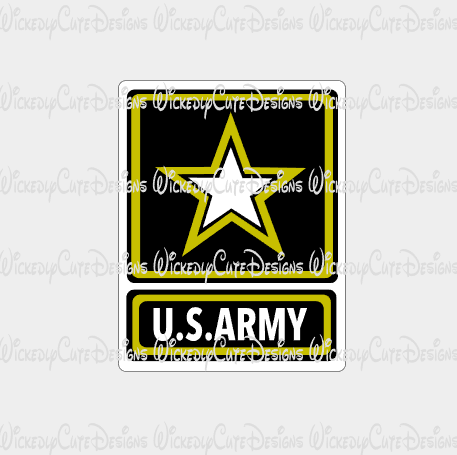 US Army Emblem SVG, DXF, EPS, PNG Digital File