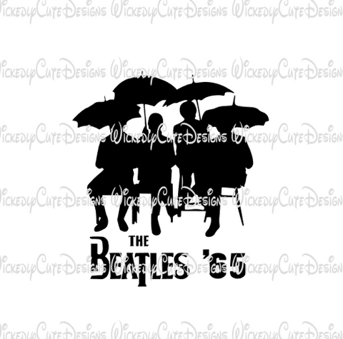 Beatles 65 SVG, DXF, EPS, PNG Digital File