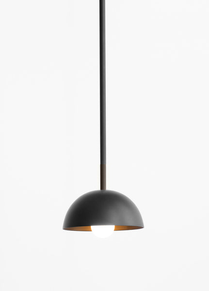 Beaubien Suspension Black Simple Shade