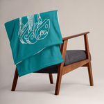Trad Climbing Throw blanket - OWA Artisan Designed