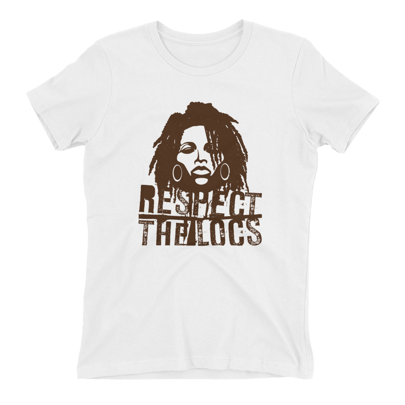 RESPECT THE LOCS T-SHIRT