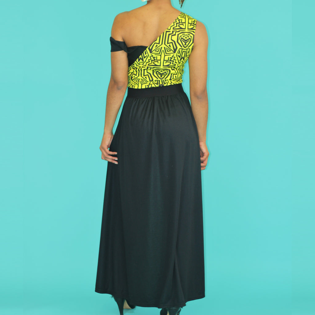 DAKARI OFF SHOULDER DRESS TOP