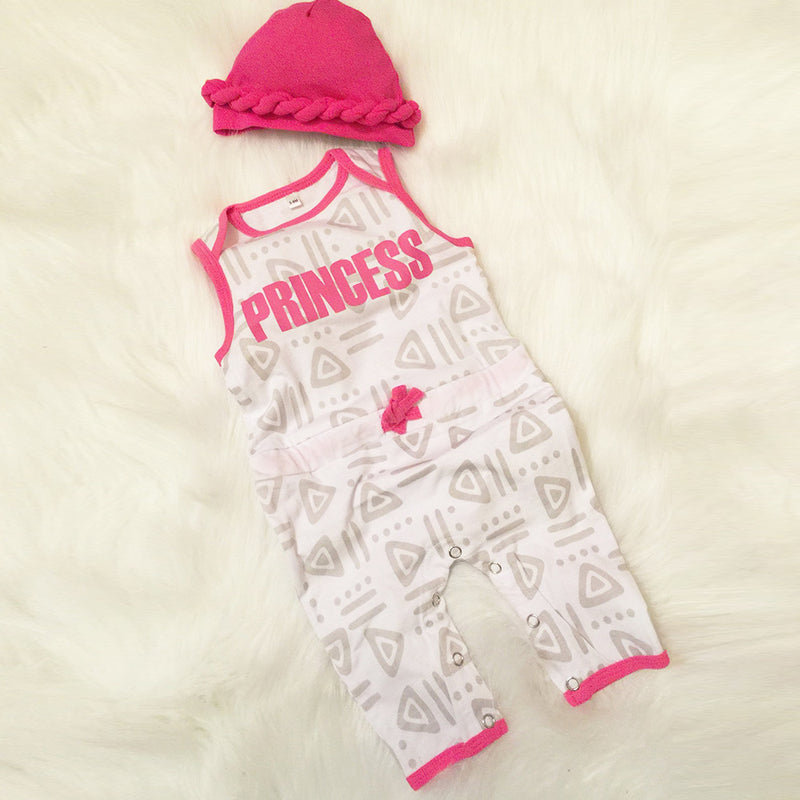 Princess 1pc Set-Includes Hat