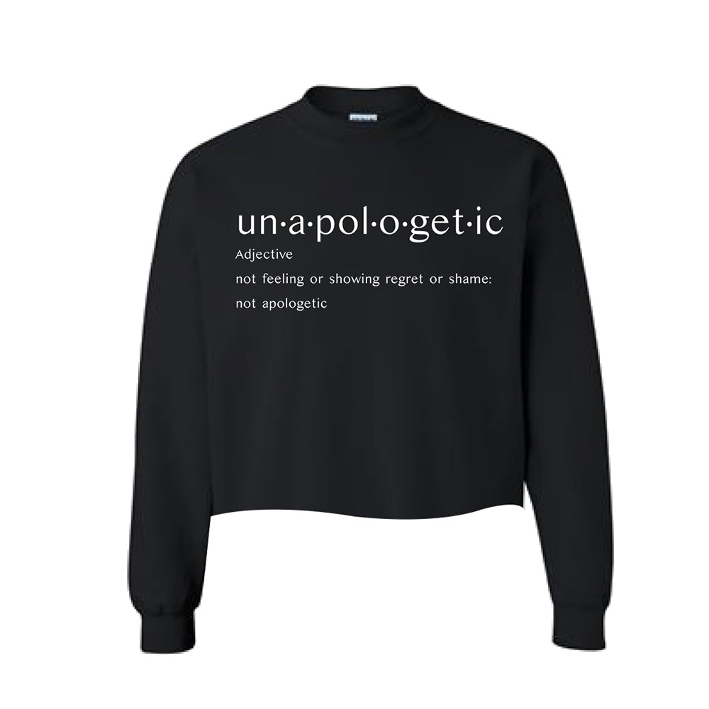 Unapologetic Crop Sweatshirt