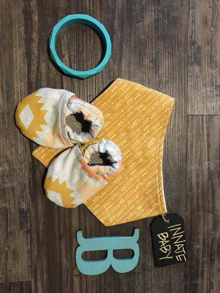 Baby Moccasins | Aztec