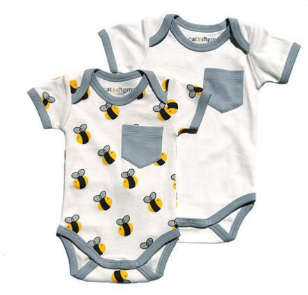 Two Pack Onesie | Bees