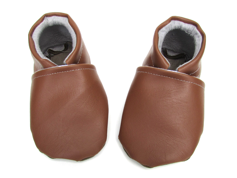Baby Moccasins | Vegan Leather