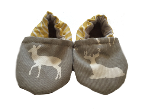 Baby Moccasins | Fawn