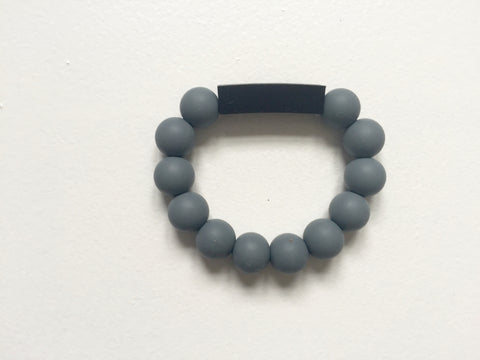 Cuboid Bracelet | Grey-Black