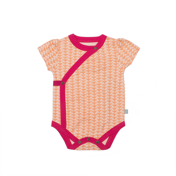 Short Sleeve Onesie | Triangle