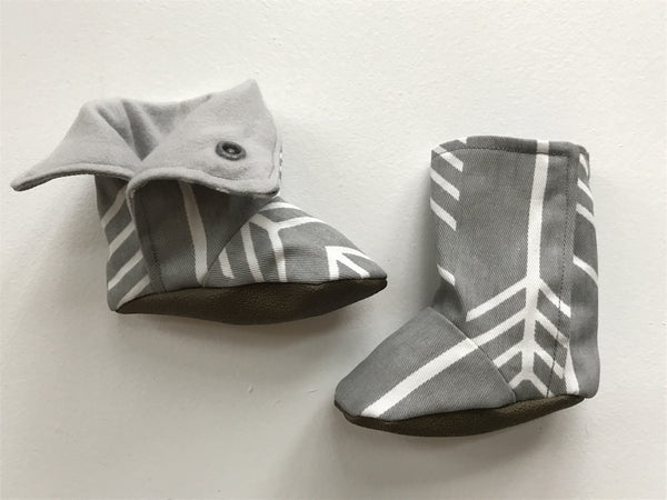 Baby Booties | Grey Arrow