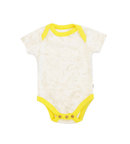 Lap Shoulder Onesie | Jungle