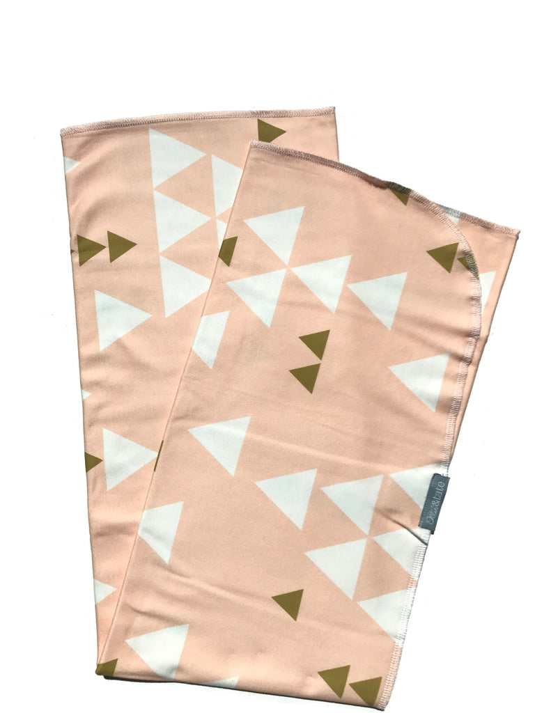 Organic Cotton Swaddle | Pink
