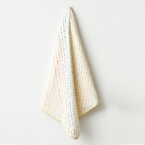 Hooded Towel | Painted Dots