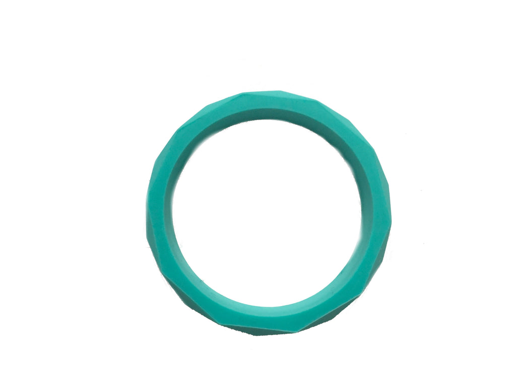 Geo Bangle | Turquoise