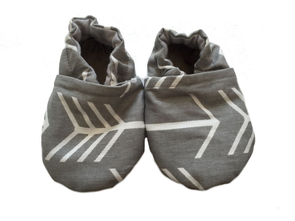 Baby Moccasins | Grey Arrow