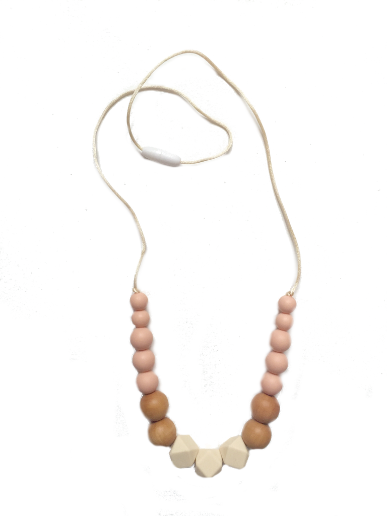 New Horizon Necklace | Beige-Peach