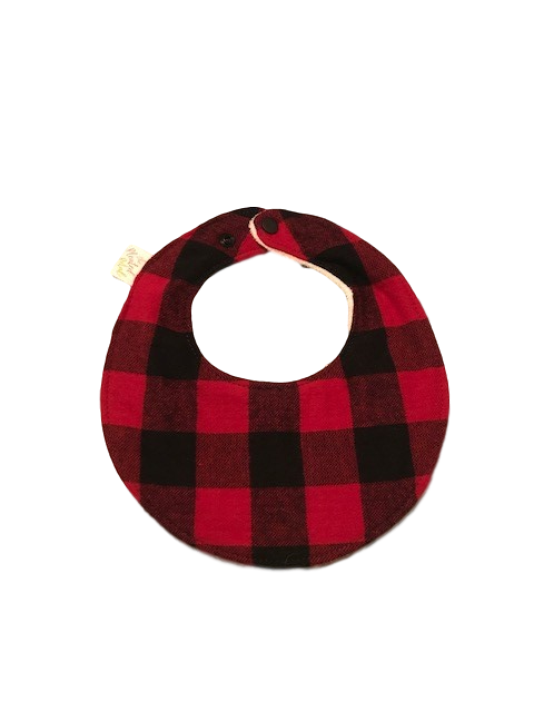 Bib | Buffalo Plaid