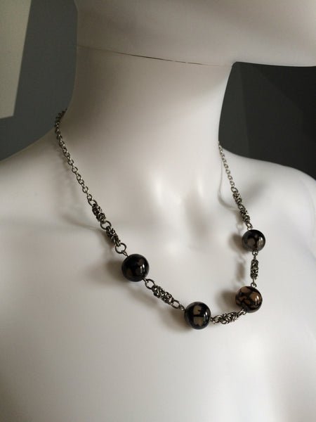 Crackle Agate Necklace