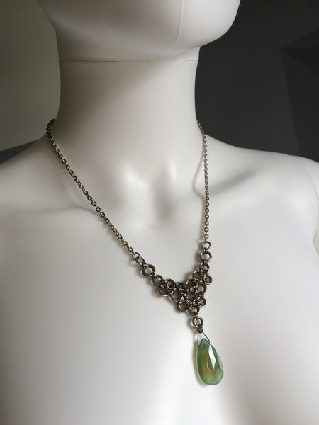 Green Aventurine Drop
