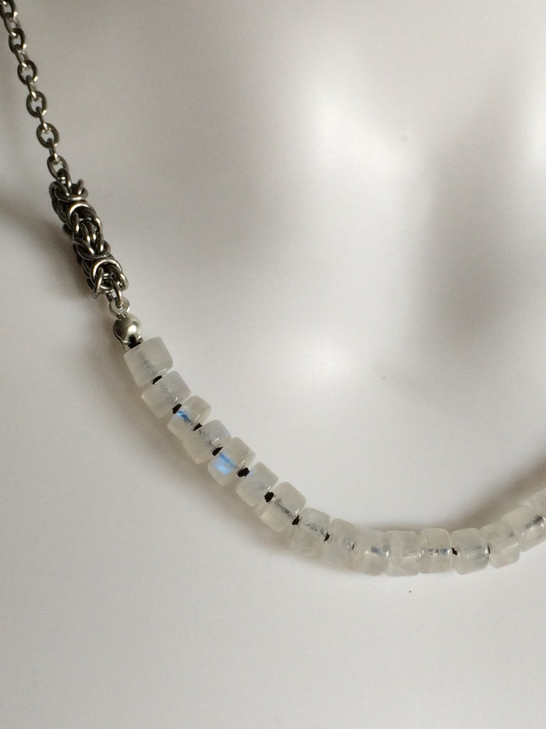 Semi-Precious Heishi Necklace
