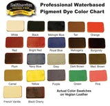Zeli Pro Waterbased Leather Pigment Dye 32 Ounce Bottles 18 Leather Paint Colors