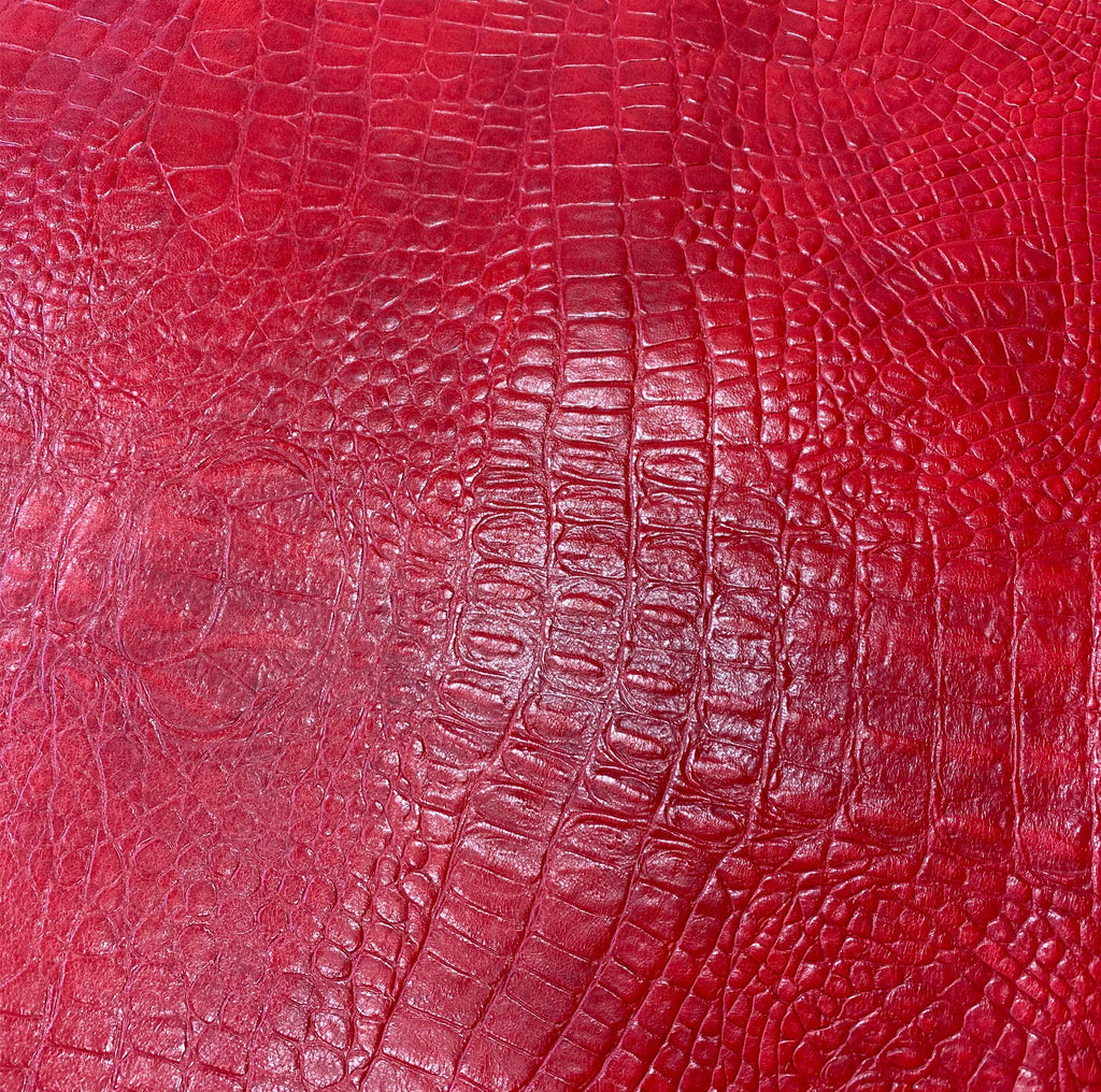 Gater Embossed on Sheep - Red