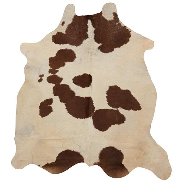 Hair on Cowhide - Brown & White
