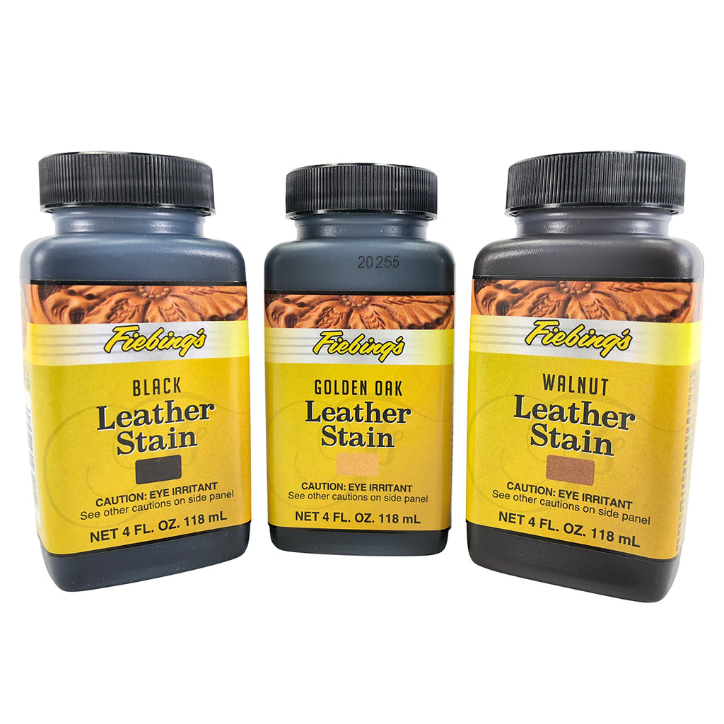 Fiebing's Leather Stain - 3 Colors