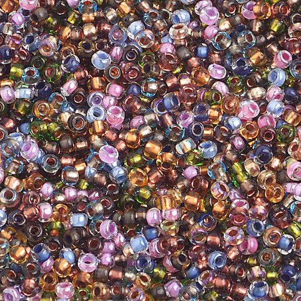 10/0 C/L Earthtones Czech Seedbeads 40 grams