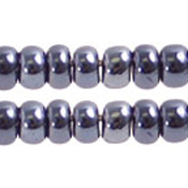 Image of 65001506 - 10/0 Gunmetal Czech Seed Beads  40 grams