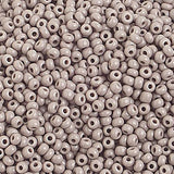 Image of 65001060 - 10/0 Op. Grey Czech Seed Beads 40 grams