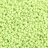 Image of 65001012 - 10/0 Pale Green Czech Seed Beads 40 Grams