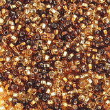 Image of 65002003 - 10/0 S/L Topaz Mix Czech Seedbeads 40 grams