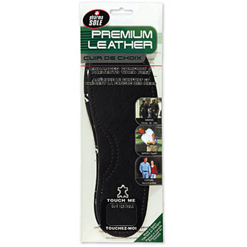 Black Leather Insole