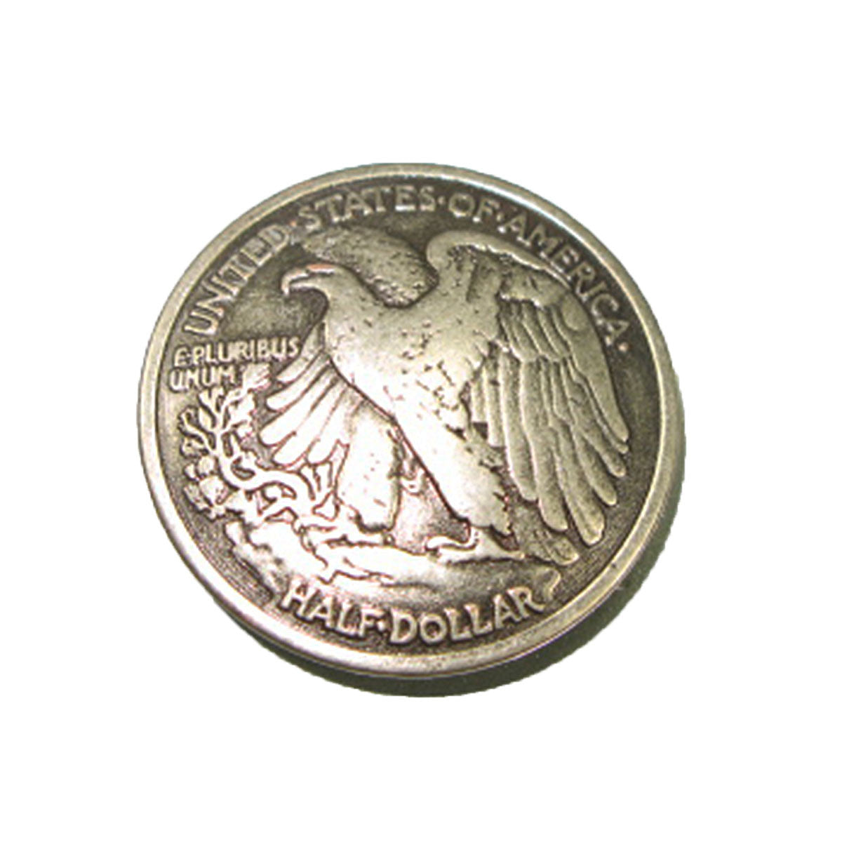 "Eagle Half-Dollar Concho 1-3/16""   11372-04"