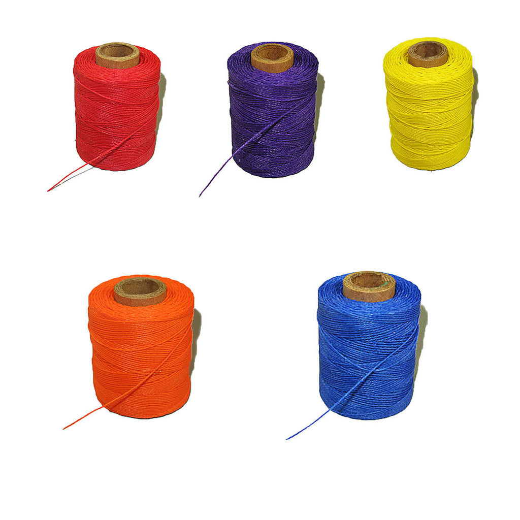 Sewing Awl Thread - 5 Colors -2 Ounce Spools