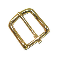 "Image of 1603-01 - #12 Bridle Buckle 1"" Brass Plated  1603-01"