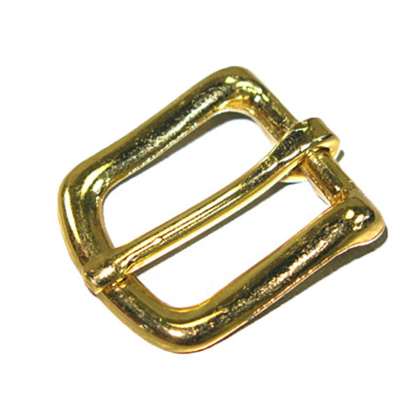 "Image of 1601-01 - #12 Bridle Buckle 5/8"" Brass Plated  1601-01"