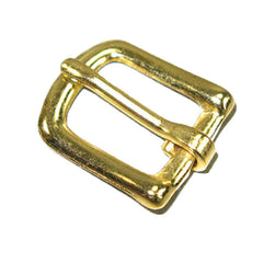 "Image of 1600-01 - #12 Bridle Buckle 1/2""  Brass Plated 1600-01"