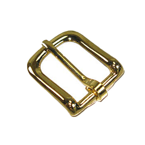 "Image of 1602-01 - #12 Bridle Buckle 3/4"" Brass Plated  1602-01"