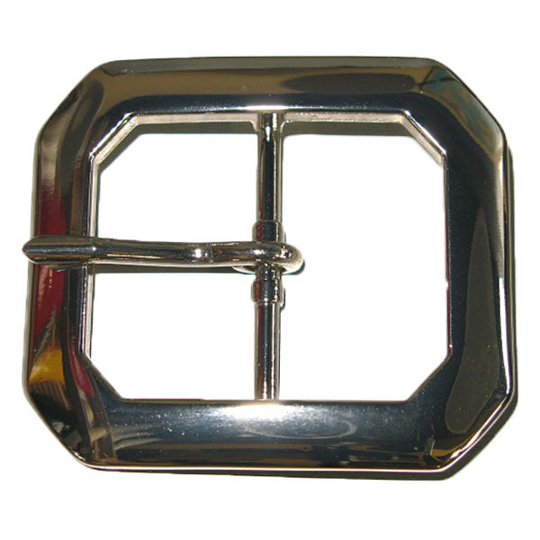 "Clipped Corner Buckle 1-1/2"" - 2 Colors"