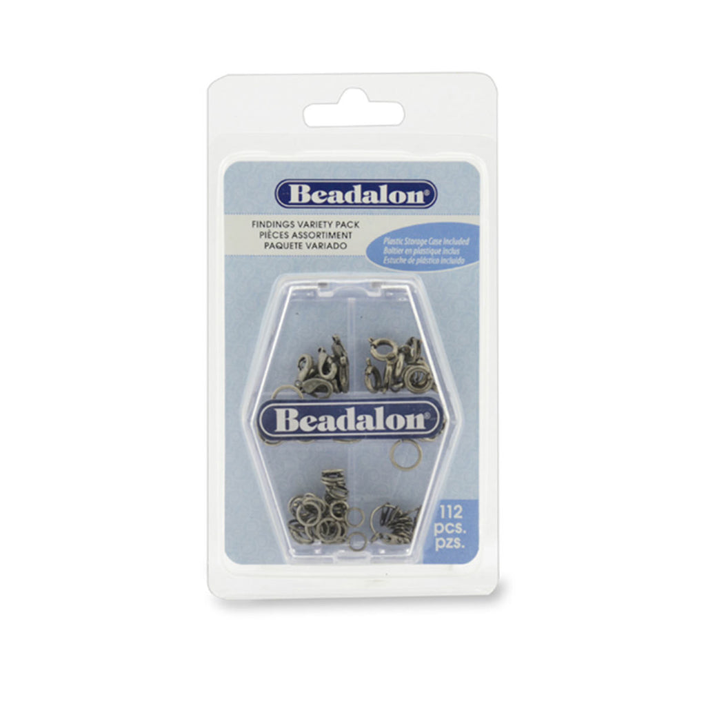 Findings Variety Pack - Antique Silver