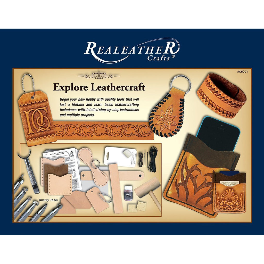 Explore Leathercraft Kit Realeather