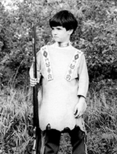Boy's Indian War Shirt Pattern