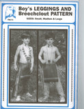 Boy's Leggings and Breechclout Pattern